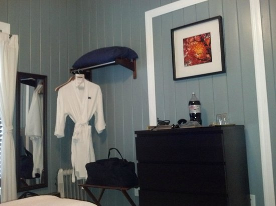 Inn at Tilton Place: Complimentary robe, which you can purchase