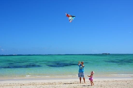Bavaro Beach: con mia Figlia torno bambino.