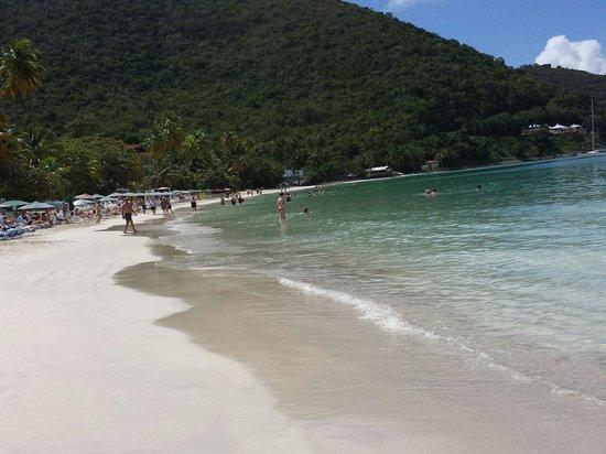 Cane Garden Bay: Praia linda