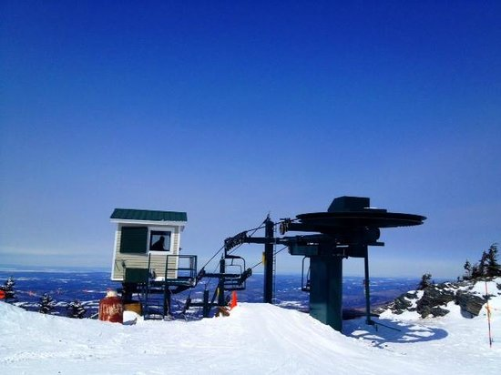 Smugglers' Notch Resort : top of Madonna
