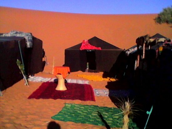 Desert Berber Fire-Camp: Merzouga camp