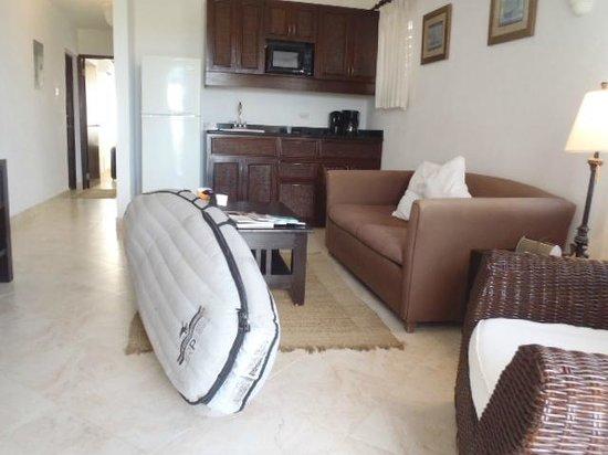 Silver Point Hotel: Visao da Sala para o quarto