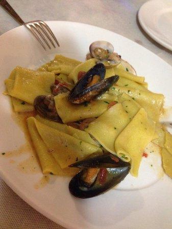 Osteria Gloria : Lasagna de frutos do mar
