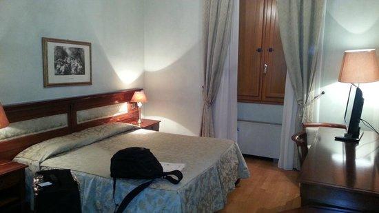 Hotel Bigallo: quarto