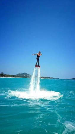 Flyboard Koh Samui Chaweng Beach : ouaw