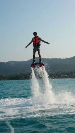 Flyboard Koh Samui Chaweng Beach : ;-)