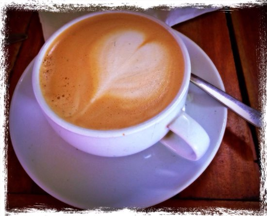 Barrio Cafe: Great coffee