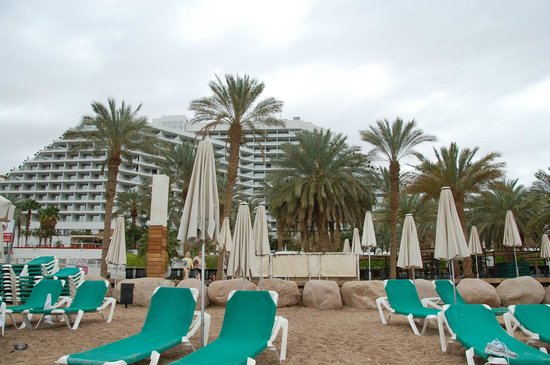 Royal Beach by Isrotel Exclusive Collection : View from the beach.
