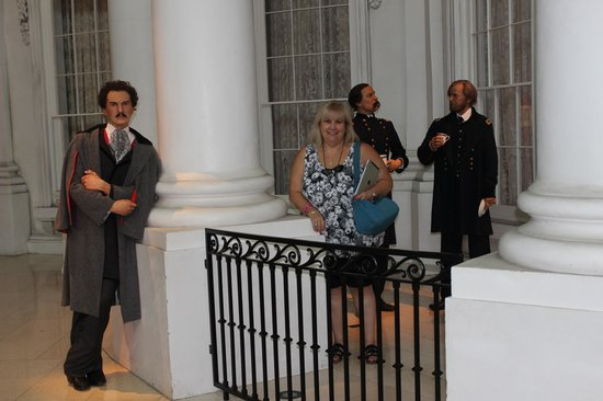 Biblioteca y Museo Presidencial de Abraham Lincoln: Unexpected guests at the White House, Lincoln Museum, Springfield, IL