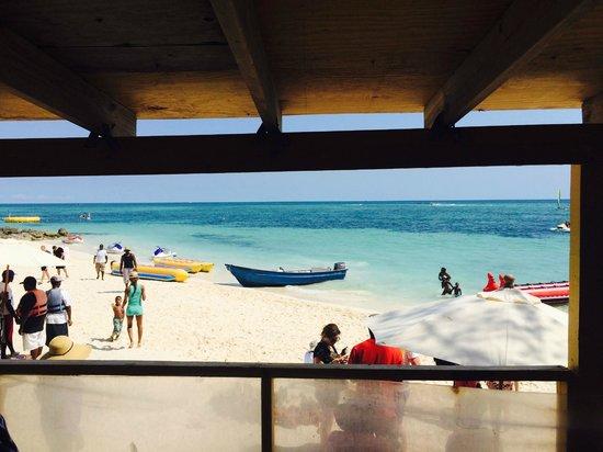 Billy Joe's On the Beach: view from Billy Joe's