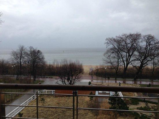 Mera Spa Hotel: Balcony View