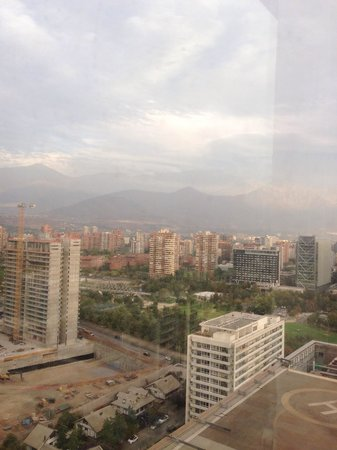 Santiago Marriott Hotel: Vista do quarto