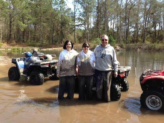 Carolinabackwoods ATV Tours: Daughter, Mother, Father