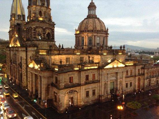 One Guadalajara Centro Històrico: Vista terraza