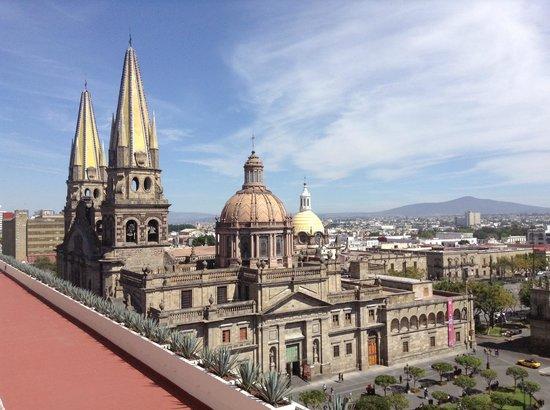 One Guadalajara Centro Històrico : Vista desde terraza