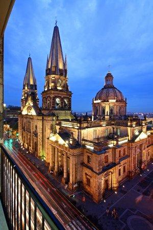 One Guadalajara Centro Històrico : desde la habitacion