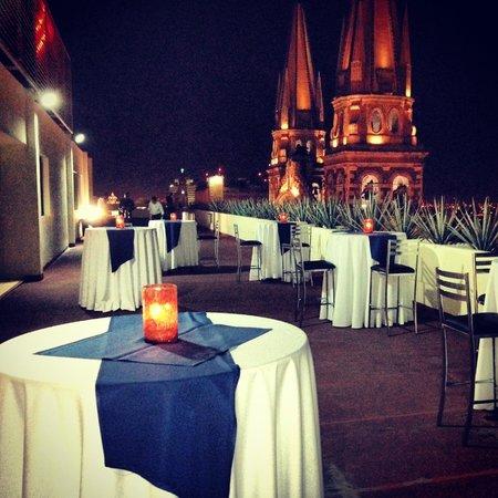 One Guadalajara Centro Historico: Evento en la terraza