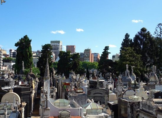 The 5th Floor : Recoleta Cemetery, one of BA's most fascinating sites, is nearby.