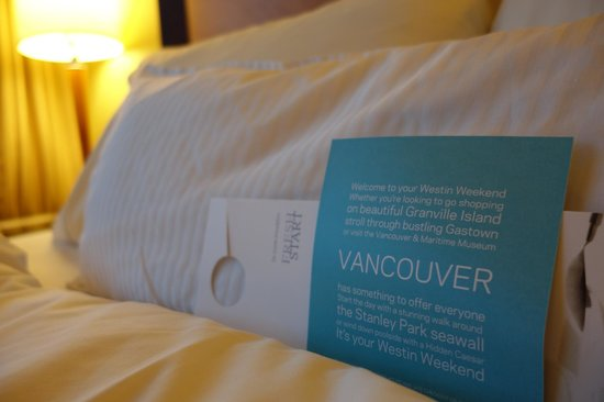 Westin Grand Vancouver: Upgraded suite