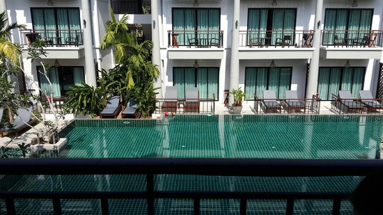 Navatara Phuket Resort: View from our room