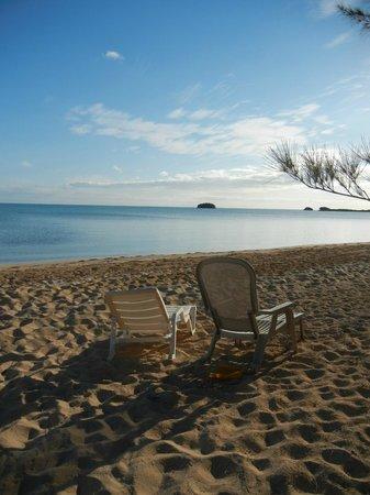 Chez Pierre Bahamas: Pierre's beach