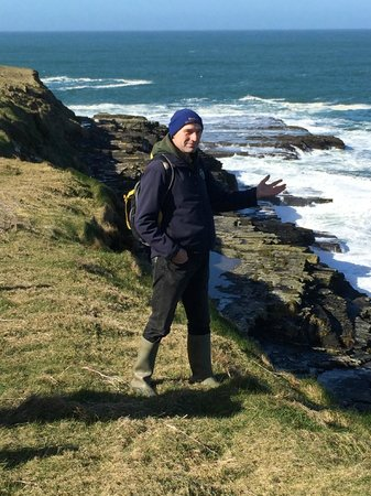 Doolin Cliff Walk: Pat Sweeney