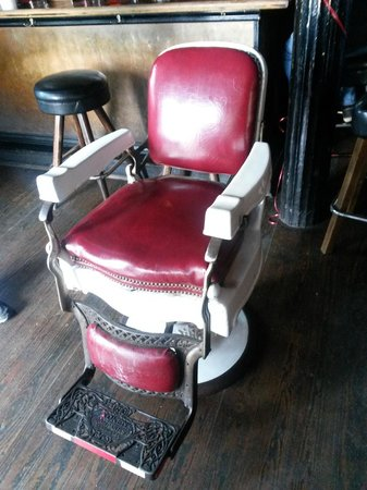 R Bar and Inn Barber Chair & Barber Chair - Picture of R Bar and Inn New Orleans - TripAdvisor