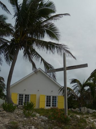 Vernon's Grocery: beautiful beach front church