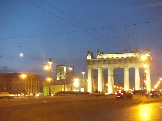 Holiday Inn St. Petersburg Moskovskiye Vorota: 近所