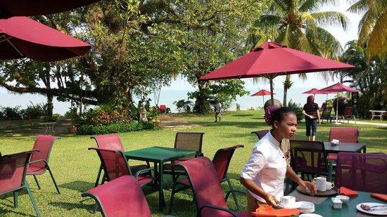 PARKROYAL Penang Resort, Malaysia: Hotel Garden area