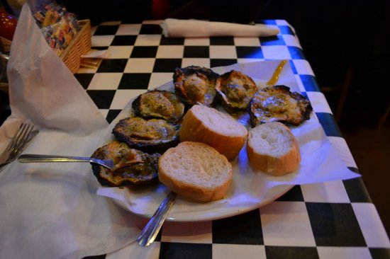 Acme Oyster House: Char-grilled Oysters