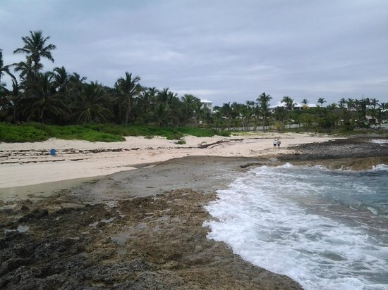 Tahiti beach coming in