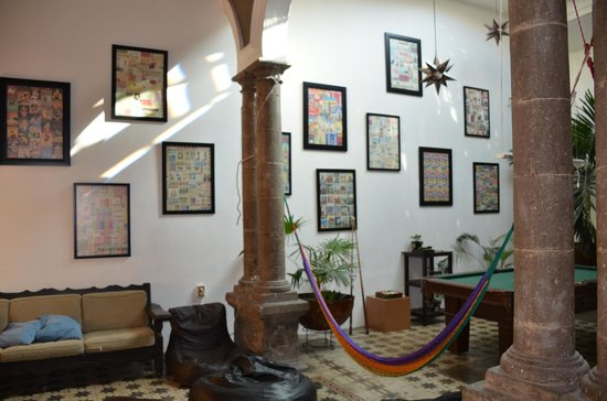 Hostel Guadalajara Centro: Wall