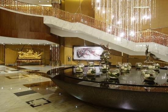 Grand Lisboa : lobby area