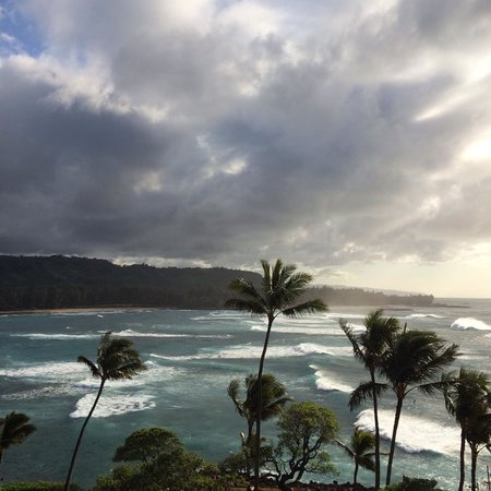 Turtle Bay Resort: View from the room #473
