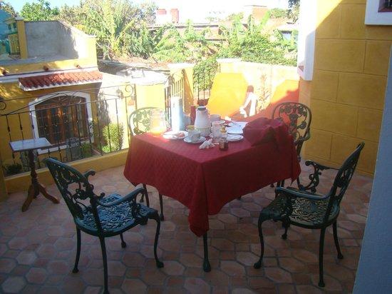 Hostal Las Margaritas: Café da manhã