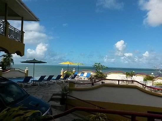 Anise Resort and Spa: view from outside the room