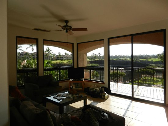 Aston Shores at Waikoloa: To our balcony