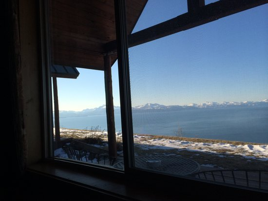 Alaskan Suites : View from one of the beds