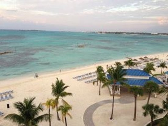 Melia Nassau Beach - All Inclusive: View of Ocean from room