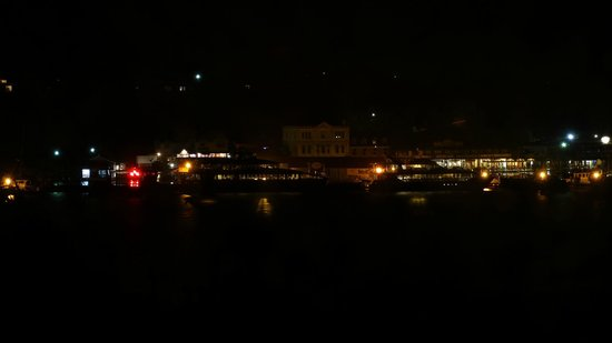 Gordon Gateway: Strahan harbour at night