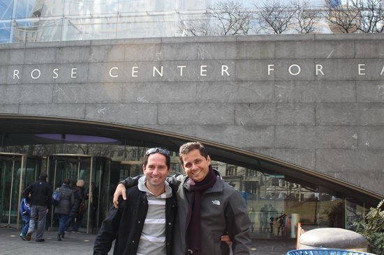 American Museum of Natural History: eu e o guilherme