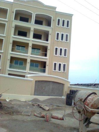 Punta Pacífico: hotel en construccion