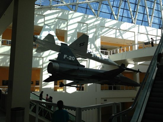California Science Center: Fighter jets