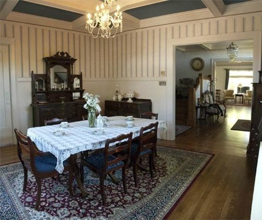 Bayside Bed and Breakfast: Dining Room where Breakfast is enjoyed