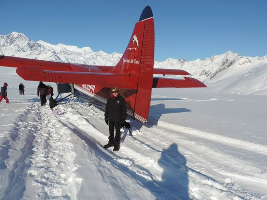 Salmon Berry Tours - Day Tours: Glacier landing while flightseeing with Talkeetna Air Taxi