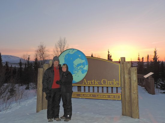 Salmon Berry Tours - Day Tours: Sunset at the Arctic Circle