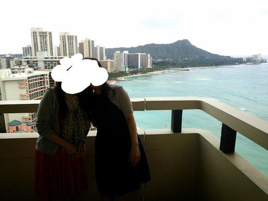 Sheraton Waikiki : 部屋からの眺め