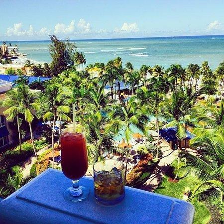 The Ritz-Carlton, San Juan : View from club balcony