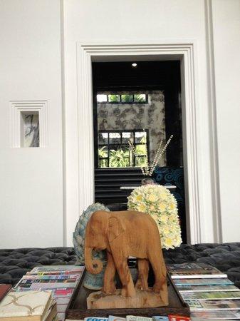 Shinta Mani Angkor : Lobby area detail - small but delightful